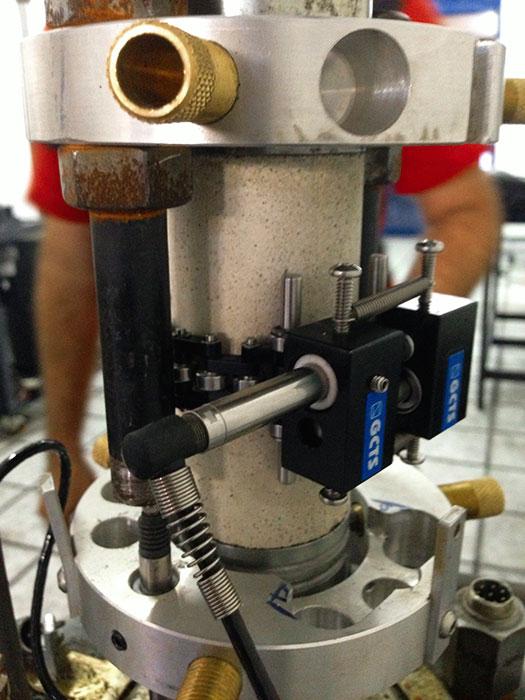 Laboratório de mecânica das rochas